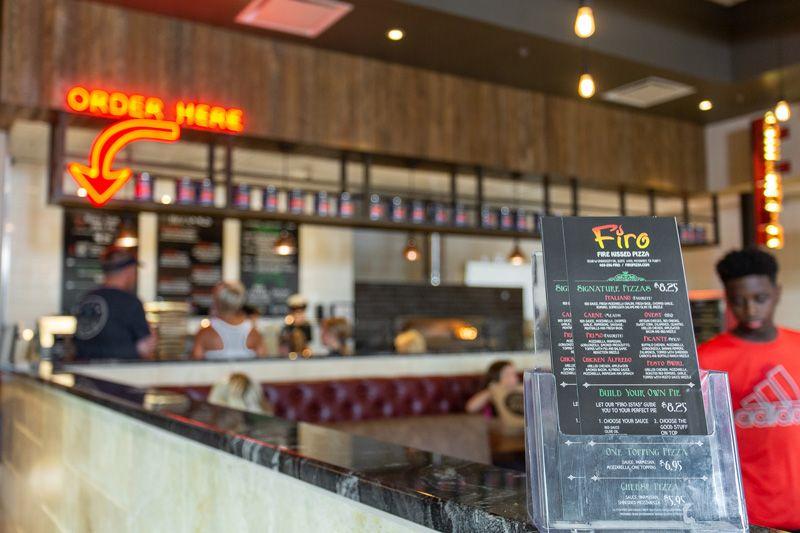 A photo of our Firo menus
