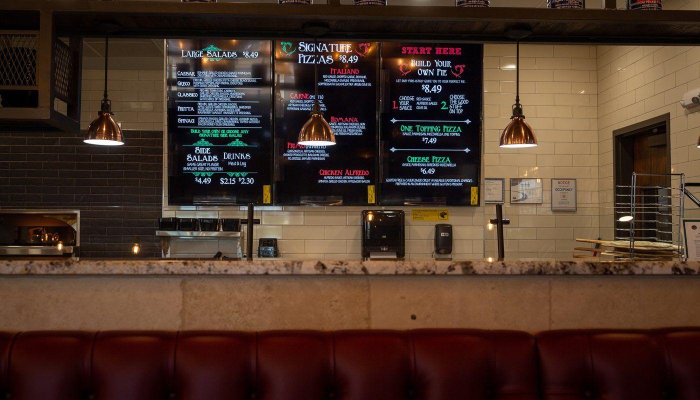 Firo Pizza - Wichita Falls Interior